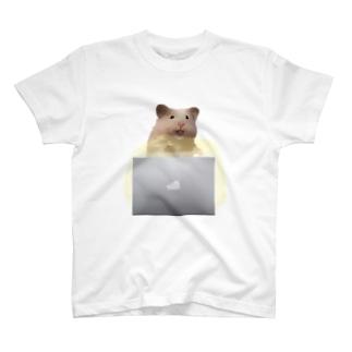 PC覗き見ネズミ T-shirts