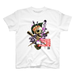 【ライブ会場無刻印版】KOMEHATISOBA WORLD TOUR 2020 T-shirts