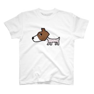 サマーカットわんこ T-shirts