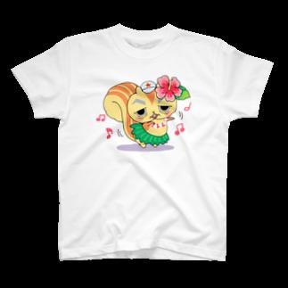 SUNWARD-1988の リスゴローと踊ろう T-shirts