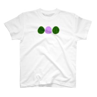スイカ・スイカ・スイカ T-shirts