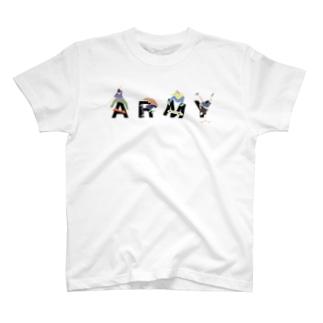 SKATER [ARMY] T-shirts
