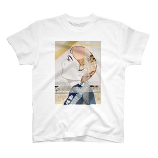 マステ絵哀愁ボーイ T-shirts