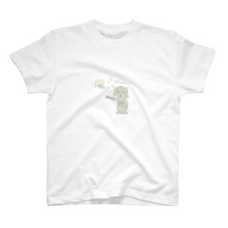 rinon1127のクロエさん。暑さのあまり温度を下げまくる T-shirts
