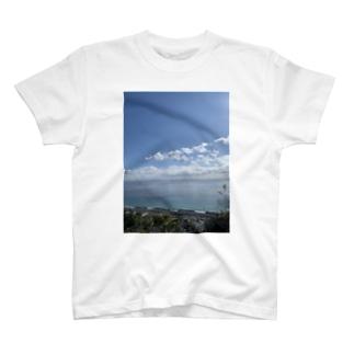 海のスマホケース T-shirts