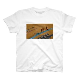 コラージュ屋のRUN!!!!! T-shirts