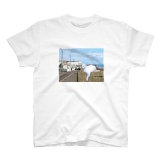 海辺のエルサ T-shirts