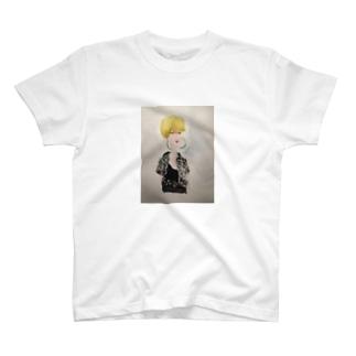 ギンガムの娘 T-shirts