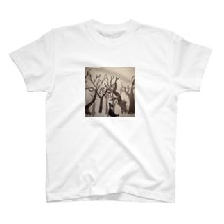 さまよう 森 T-shirts