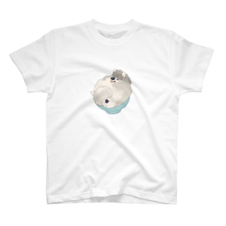 毎日とり生活のとりいぬごはん T-shirts