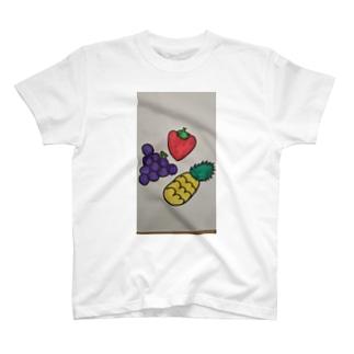 534388-568の果物だいすき T-shirts