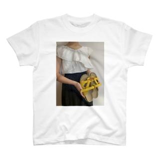 今日の私のドットコーデ T-shirts