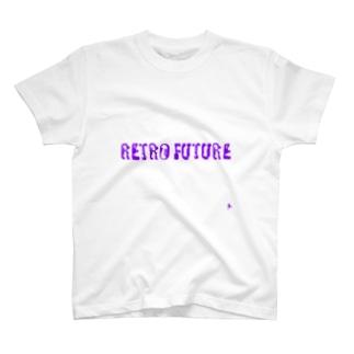 レトロフューチャーロゴ T-shirts