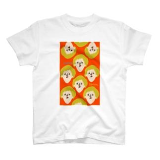 kotsue mamire こつえ(赤) T-shirts
