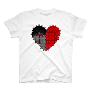 心の空白 T-shirts
