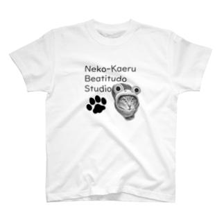 コスプレ猫のカエルさん T-shirts