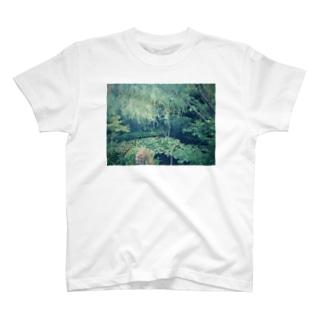 モネの睡蓮のような T-shirts