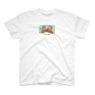 アイラブマイヘアカット T-shirts