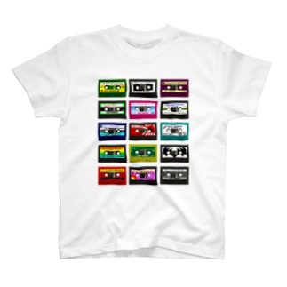 Cassette Tapes Tシャツ T-shirts