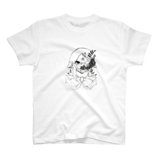 中性的オリジナル手描きイラスト T-shirts
