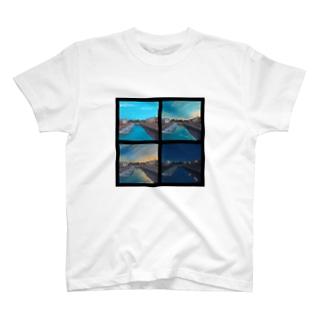 入江のグラデーション T-shirts