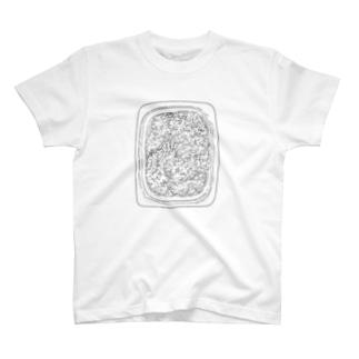 レトルトごはん(黒) T-shirts