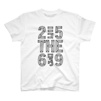 25ニコTHE6ロック9 T-shirts