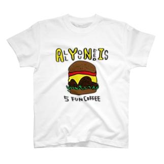 5 FUN COFFEE T-shirts