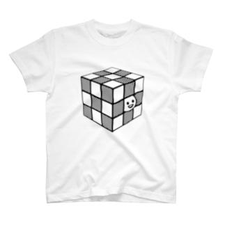 エナメルストア SUZURI店のルービック休部 T-shirts