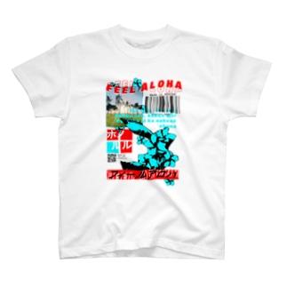 フィールアロハホノルルしゃつ T-shirts