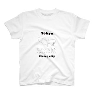 Tokyo Metro City T-shirts