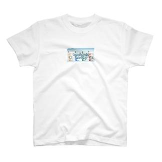 フラッペチーノ(ロゴ入り) T-shirts