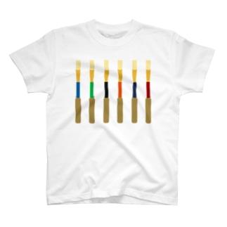 オーボエのかわいい子たち T-shirts