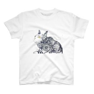 TRIBAL - CatT T-shirts