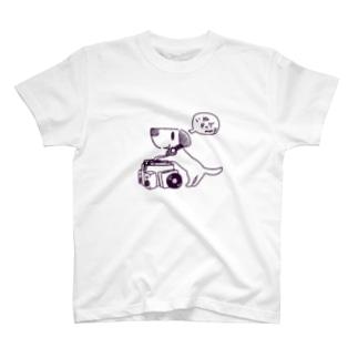 川合機械のいぬドッグ T-shirts