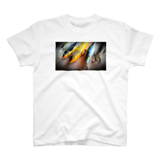 WOOD-BEARのFishing-Tシャツ T-shirts