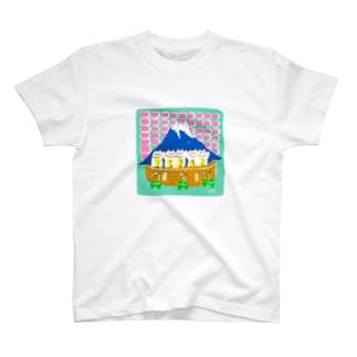 まねきねこ銭湯 T-shirts