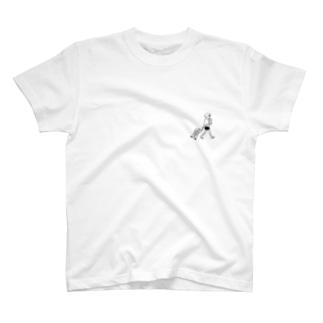 帰国子女Tシャツホワイト T-shirts