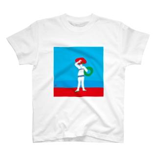 I wanna go to the sea T-shirts
