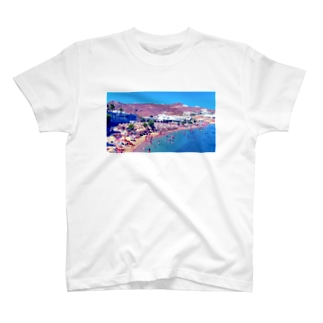 THE SNACKERS Beach Tee T-shirts