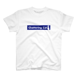 chattering cat T-shirts
