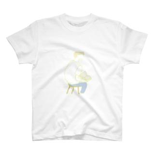 普通の男の子くん T-shirts