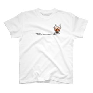 ティンパニさんひかえめ T-shirts