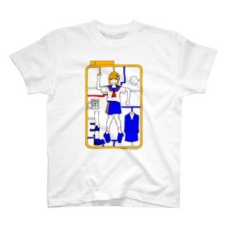 未組み立て少女 T-shirts