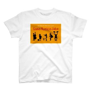 Game Musica Jake シルエット T-shirts