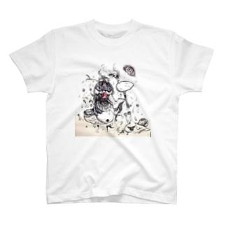 破壊と再生 T-shirts