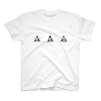 三角フラスコのTシャツ T-shirts