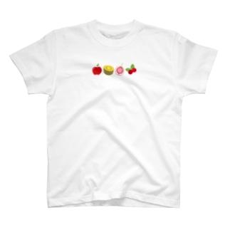 フルーツしりとり T-shirts