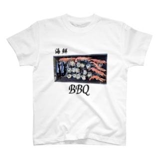 KUREOの海鮮BBQやるぞー! T-shirts