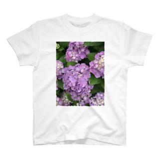 紫陽花II T-shirts